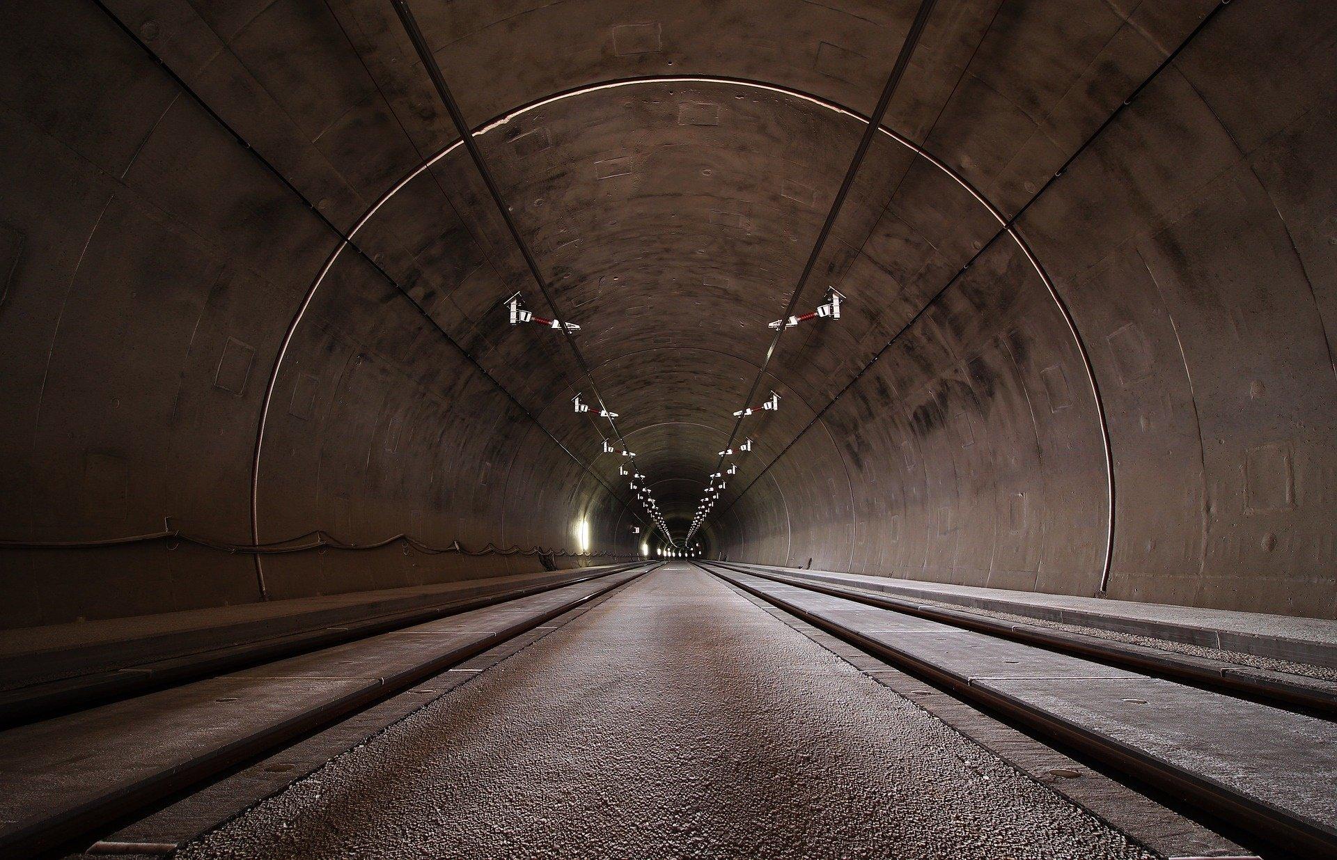 Tunnel stockfoto 1